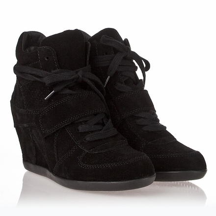 Wedge-Sneaker-Black